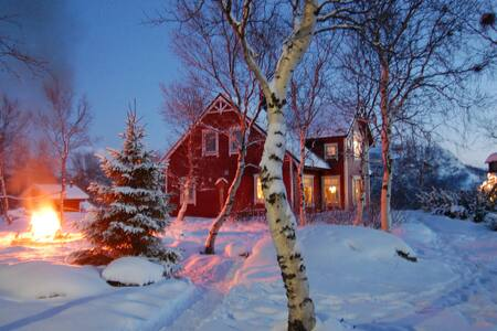 Mountain Villa with Ocean View - Kirkenes - Dom