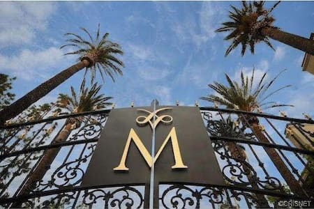 My apartment is located in a safe and beautiful neighborhood in Los Angeles. My apartment and kitchen is fully furnished  and you have full access to it. there is a nice 24 hr gym and swimming pool that you can also use while you are staying here.
