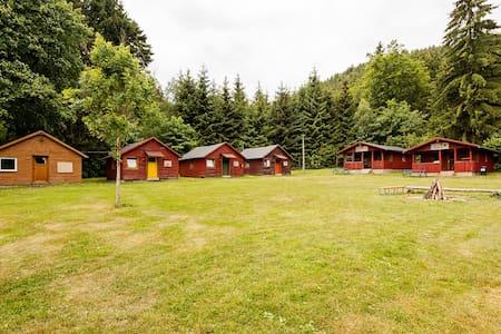 Holzhütte im Thüringer Wald (groß) - Schalkau - Cabin