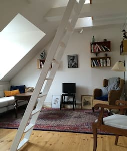 Beautiful Top Floor Studio flat - Copenhague - Appartement
