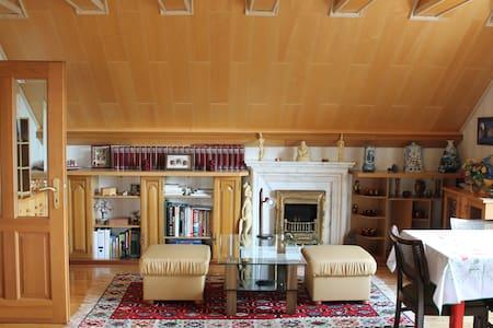 Schöne sehr helle Wohnung im Grünen - Apartamento