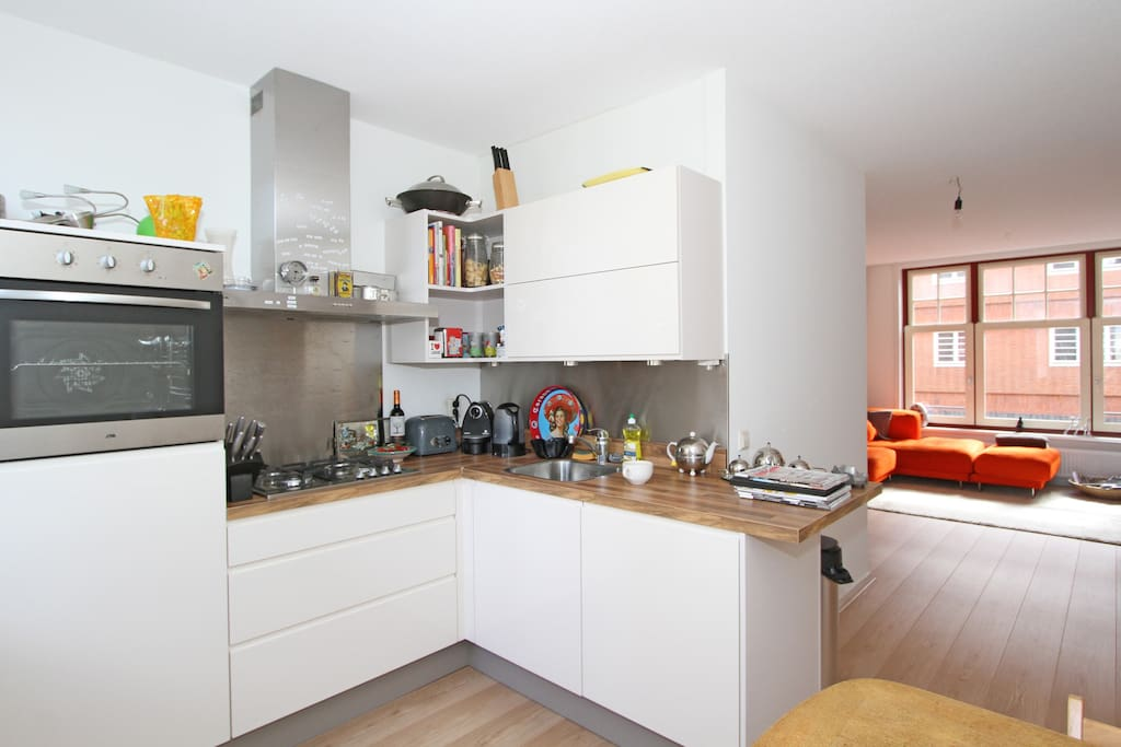 Cute apartment in trendy Westerpark