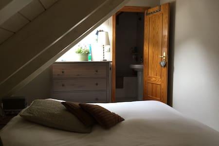 Ático dúplex 3 dormitorios 2 baños - Sallent de Gallego - Apartamento