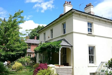 Garden flat in Victorian home - Great Malvern