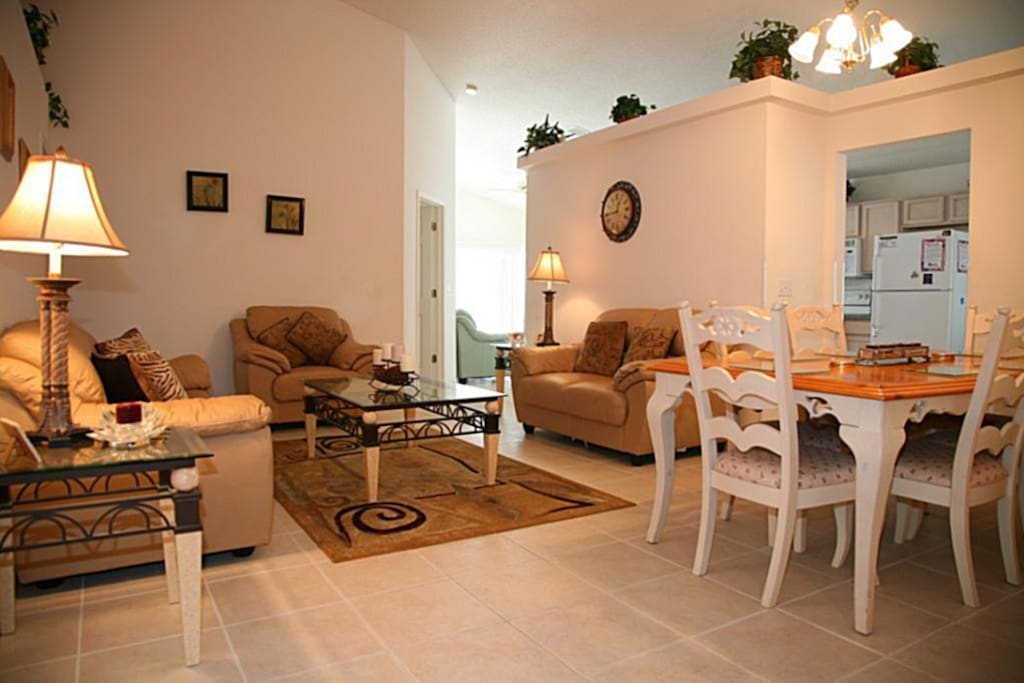 Relaxing, yet homely lounge area