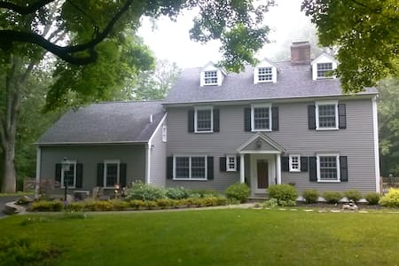Room colonial house (New Bath) - Pound Ridge - Casa