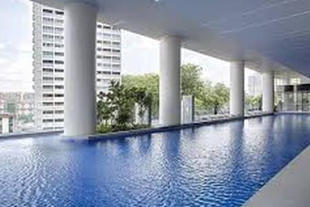 Common room next to Ang Mo Kio MRT