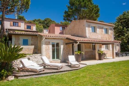Villa Deluxe avec jacuzzi extèrieur - Villefranche-sur-Mer - Villa