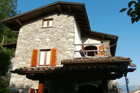 Charming Apartment In Villa - Plesio