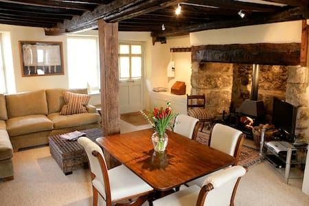Luxury, old Dartmoor Cottage - Casa