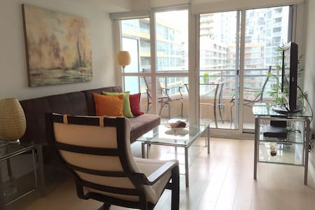 Cute & Clean 2 BR Condo Downtown
