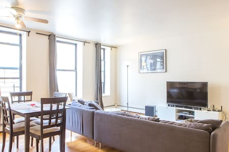 The room is sunny, spacious, and equipped with Roku TV (2,000 channels). The apartment is located in an Orthodox Jewish enclave in Crown Heights, close to the Brooklyn Museum; offering a unique NYC cultural experience. It is also close to Prospect Park, and only 25-minutes to Manhattan by subway.