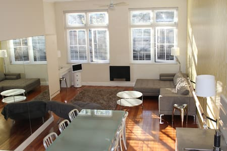 Potts Point Apt - Dance loft conv - Potts Point - Loft