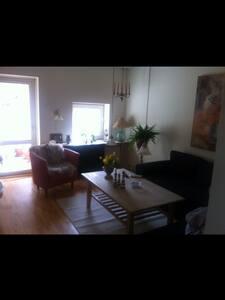 Hyggelig lejlighed med altan - Apartment