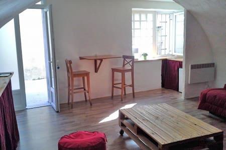 Studio meublé à 2 pas de la rivière - Saint-Martin-d'Ardèche - Apartment