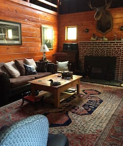 Refined Rustic Lakefront Log Cabin - Ashland - House