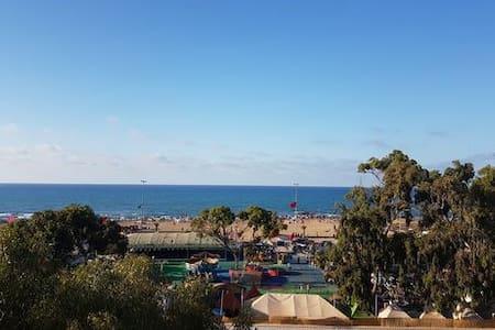 Bel Appart, 2 mn de la plage, situation/vue except - Daire