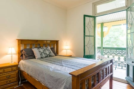 Private verandah - 4 level Terrace Petersham - Lewisham - Bed & Breakfast