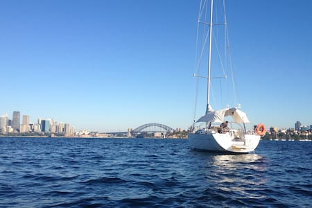 Luxury Yacht on Sydney Harbour - Darling Point - Barco