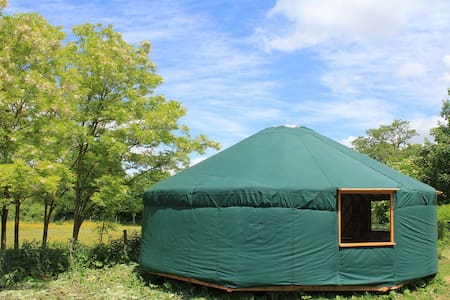 Luxurious Yurt near Guedelon - Batilly-en-Puisaye - Yurt
