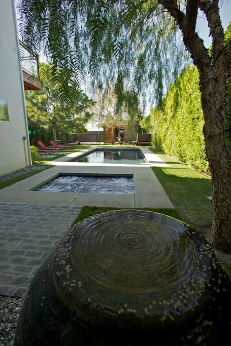 Pool home/compound close to studios