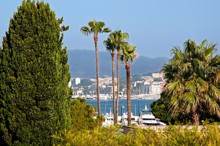 Cannes zone Palm Beach proche plage - Apartment