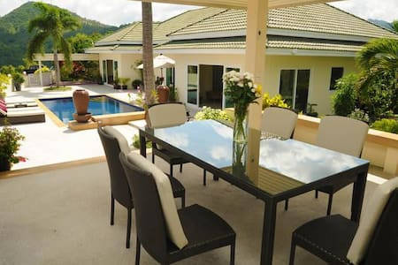 Luxury Three Bedroom Villa located at Bophut, Koh Samui