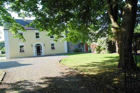 Detached 300 yr old Georgian Manor - Ballyhale - Casa