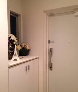 岡山中心部のマンション。