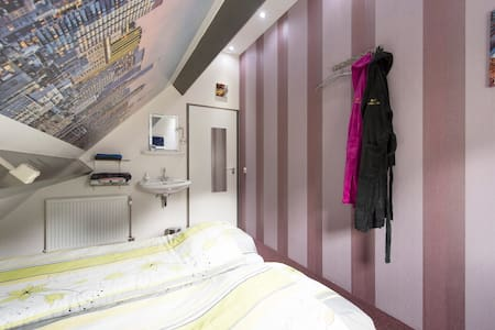 B & B Drentse Zon / Skyline room - Szoba reggelivel