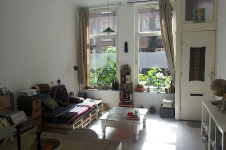 Quiet & cozy ground floor near city center - Amsterdam - Apartment