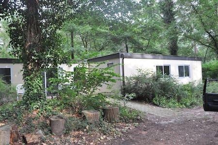 Boshuisje op BC Ruighenrode - Faház