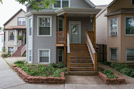 PRIVATE Chicago flat you will love! - Chicago - House