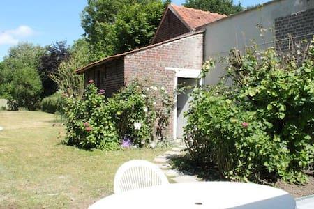 Chambre côté jardin 5min Lille - Dům