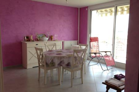 Appartement chaleureux, pratique, sans contrainte - Appartement