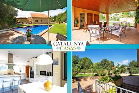 Glorious Villa Bellaterra for up to 13 guests, a short drive from Barcelona and the beach! - Barcelona - Villa