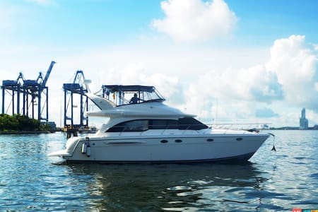 46ft Azimut Yacht - Rent your own Yacht for a Day! - Cartagena
