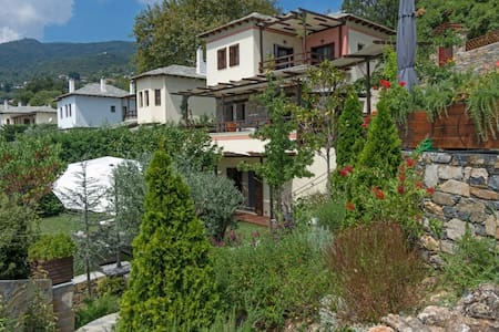 Pelion Residence at Milies, with private pool - Milies - Ev