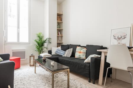 Beautiful flat in a quiet & typical parisian area - Apartment