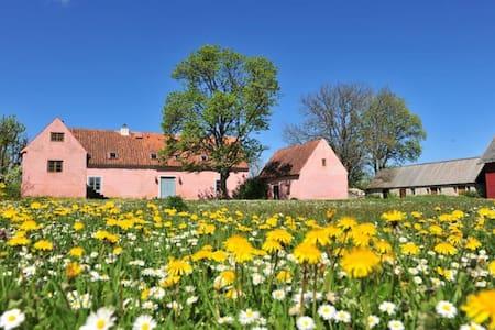 Vacker historisk gotlandgård - Huis