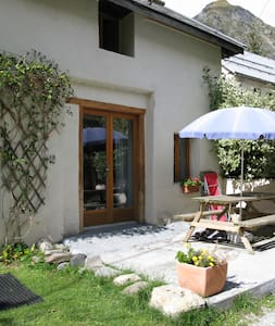 Converted Alpine Barn with mod cons  - Col D'Ornon - Chalet
