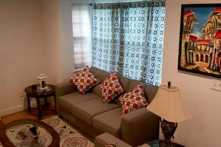 Cozy room near metro with private bath - Silver Spring - Maison