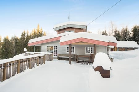 Stor velutstyrt hytte nær Oslo - Kabin