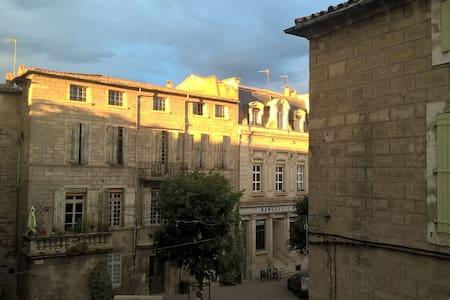 Duplex d'angle 100 m2 centre historique 2 et 3èmes - Pézenas - Apartment