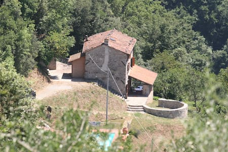 Private villa, pool, Barga, Tuscany - Barga - Villa