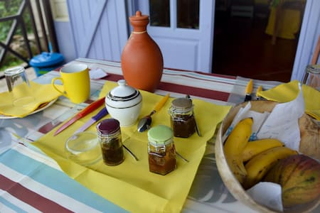 Bed and Breakfast dans villa créole - Villa