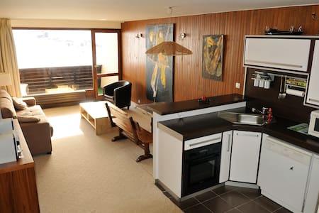 Appartement vaste et lumineux au pied des pistes - Apartemen