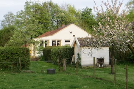 Mooie boerderij cottage; Klein Geer - Kabin