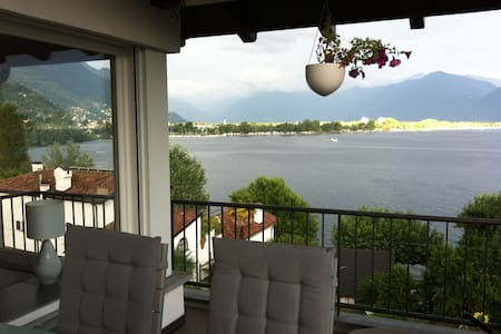 "Double room ""cloud"" near Locarno - Minusio"