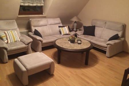 Gemütliche Ferienwohnung in Trier-Pfalzel - Appartamento